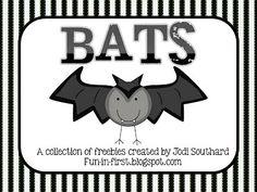 FREE~ Fun in First Grade: Informative Writing and Bat Freebies