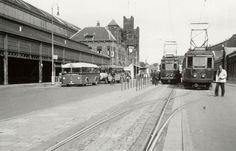 Station Haarlem omstreeks 1947 - Serc