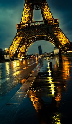 Eiffel Tower, Paris Rainy Paris, Paris Night, Paris Paris, Tour Eiffel, Paris Eiffel Tower, Eiffel Tower At Night, Eiffel Towers, Torre Eiffel Paris, Beautiful Paris