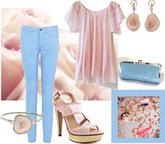 """""""blush"""" by kathyborie7 ❤ liked on Polyvore"""