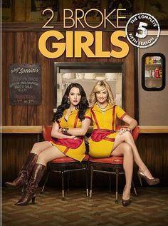 2 Broke Girls The Complete Fifth Season Five 5 (DVD, 2016, 3-Disc Set) New SALE w/freeship