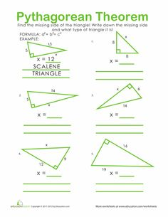 pythagorean theorem teaching and the o 39 jays on pinterest. Black Bedroom Furniture Sets. Home Design Ideas