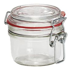 Typical jar in Scandinavia, could have tag or label tied or stuck on.