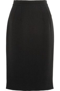 Dolce & Gabbana Twill pencil skirt | NET-A-PORTER
