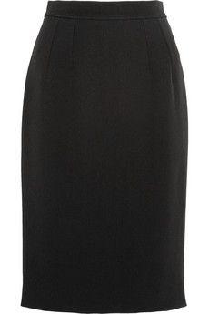 Dolce & Gabbana Twill pencil skirt | NET-A-PORTER