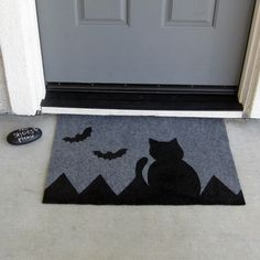 Painted Halloween Doormat Pictures, Photos, and Images for ...