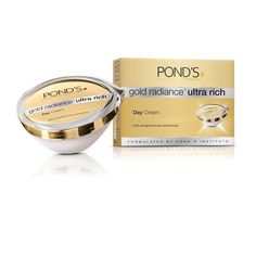 POND'S Gold Radiance Ultra Rich Day Cream 50gm.  Available in the market for Rs. 999.