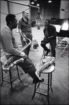 Miles and the Trane in 1958
