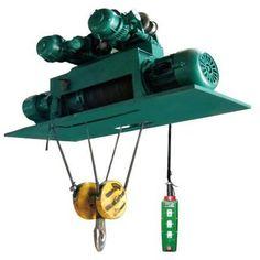 #hoist #hoists #chainhoist  http://www.santocrane.com/electrical-hoists/metallurgical-electric-hoist.html