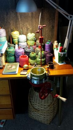 This is a beautiful sock machine, and I love it.