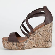 VOLCOM Getting Around Womens Shoes 216825400 | Heels & Wedges | Tillys.com