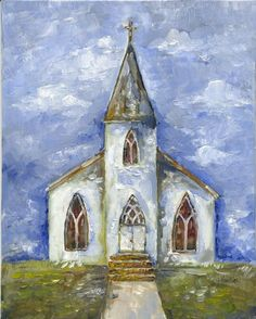 Discover some basic and simple technique of painting with our Acrylic Painting Tips - The result will impress and value added your artwork! Painting & Drawing, Watercolor Paintings, Watercolor Barns, Cross Paintings, Church Pictures, Christmas Paintings, Bible Art, Christian Art, Learn To Paint