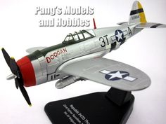 Republic P-47 Thunderbolt 1/72 Scale Diecast Metal Model by Oxford