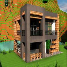 Modern Home Front Design Archives – Page 80 of 393 – Best Home Interior Design - Minecraft, Pubg, Lol and Villa Minecraft, Plans Minecraft, Modern Minecraft Houses, Minecraft City Buildings, Minecraft Room, Minecraft Houses Blueprints, Minecraft House Designs, Minecraft Architecture, Minecraft Projects
