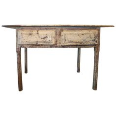 Early 19th Century Directoire Table or Desk   From a unique collection of antique and modern console tables at https://www.1stdibs.com/furniture/tables/console-tables/