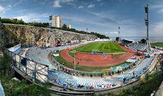 Anyone fancy a kick around here? Stadion Kantrida, Rijeka, Croatia: AWESOME    #football #soccer
