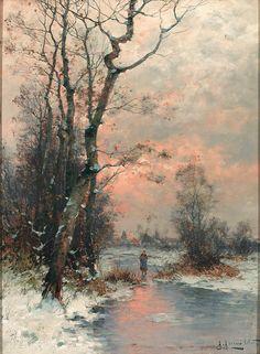 Winter by Gernot Rasenberger.1943