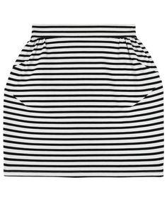 Striped Cypress Skirt
