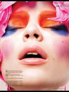 Magazine: Vogue Netherlands March 2013 Title: Pow, Pow, Pow, Pow, Pow Photographer: Feriet Tunc Model: Naomi Nijboer Make-Up: Kathinka Gernant