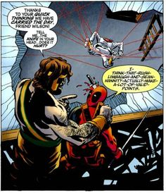 Funny Deadpool comics are a staple of the character himself. He's almost a well-known, well-liked parody of comic book characters themselves who just happens to live among them. The funniest Deadpool comics are the ones that have an incredible amount of violence, surprise-gore, and absolute lunacy ...