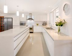 Top kitchen trends for 2015 in Australia - The Interiors Addict Kitchen Design Gallery, Design Your Kitchen, Contemporary Kitchen Design, Kitchen Designs, Kitchen Tops, New Kitchen, Kitchen Reno, Kitchen Storage, Kitchen Ideas Australia