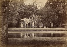 George Washington Wilson (1823-93) - The Ruins at Frogmore, c.1876 also