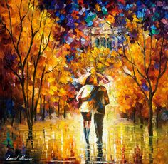 Original Recreation Oil Painting on Canvas This is the best possible quality of recreation made by Leonid Afremov in person. Title: London, Saint James Park (Part 1 of 2) Size: Variable Condition: Excellent Brand new Gallery Estimated Value: $3,500 Type: Original Recreation Oil