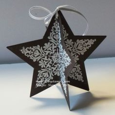 Decoration using Bright and Beautiful Stamp Set and Star Framelits