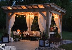 is the purpose of a Pergola? - a nest with a yard What is the purpose of a Pergola? You can create an unforgettable under your pergolaWhat is the purpose of a Pergola? You can create an unforgettable under your pergola Diy Pergola, Cedar Pergola, Outdoor Pergola, Wooden Pergola, Pergola Plans, Pergola Kits, Outdoor Rooms, Gazebo Ideas, Pergola With Curtains