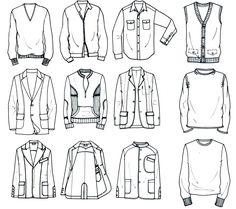 Menswear - top row button up