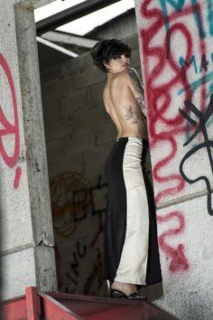 #gabrielladeplano #fashion #collection2013 # longskirt #jersey #moda #madeinitaly #camoscio