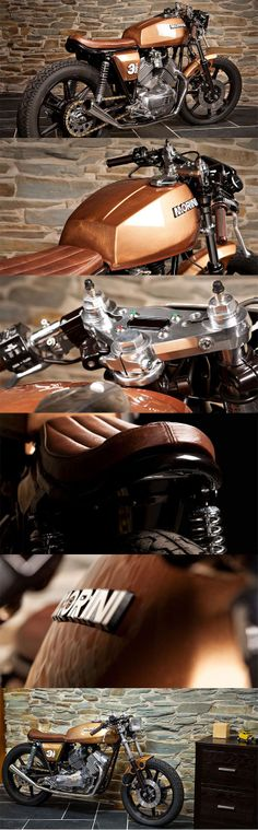 Caffe Corretto - Moto Morini 350 #caferacer by #motoveloce  http://www.motoveloce.co.uk/index.php/caffe-corretto
