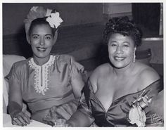 Photo of the Day: Billie Holiday and Ella Fitzgerald