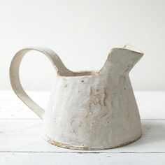 Paul Philp Stoneware vessel Paul Philp stoneware vessel - Maud and Mabel Ceramic Spoons, Ceramic Pitcher, Ceramic Tableware, Ceramic Pottery, Ceramic Jugs, Diy Tableware, Slab Pottery, Pottery Vase, Porcelain Ceramics