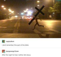 Y'all need Jesus.