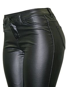 175de85bfcf88d Cielo Women's Super Trendy Faux Skinny Pants at Amazon Women's Clothing  store: Skinny Leather PantsFaux Leather ...