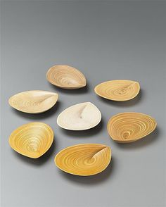 View Set of seven 'Leaf' platters by Tapio Wirkkala sold at Important Nordic Design on 17 November 2011 London.