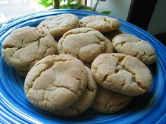 These are the BEST peanut butter cookies EVER!  I am actually pinning a recipe I just used... seriously... trust me on this!