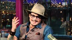 Johnny Depp al David Letterman Show
