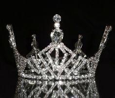 Princess Miss America Pageant Crown children/'s rhinestone Bling Tshirt