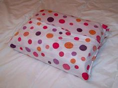 how to fold and bundle a bed sheet set