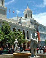 Casa Alcaldía: Old San Juan's City Hall, San Juan, Puerto Rico #Travel #SanJuanPR #PR #Architecture