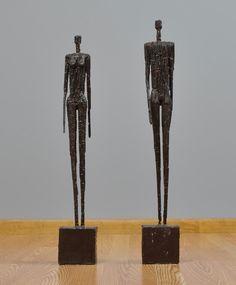Giacommeti's figures