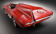 1960 Plymouth XNR, a one-of-a-kind concept vehicle by famed Chrysler designer Virgil Exner.