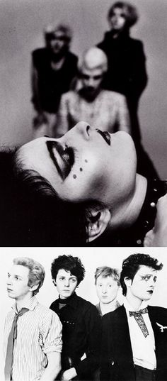 John Mcgeogh, Steven Severin, Budge and Siouxsie Sioux. Siouxsie and the Banshees Siouxsie Sioux, Siouxsie & The Banshees, Rick Astley, Beatles, It Icons, Punk Makeup, 80s Makeup, New Wave Music, Grunge