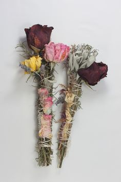 complimentary products - herbal/floral smudge wand