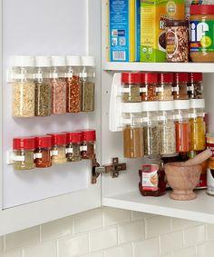 Love this Half-Size Organizer Panel & Kitchen Cabinet Clips - Set of 20 by SpiceStor on #zulily! #zulilyfinds