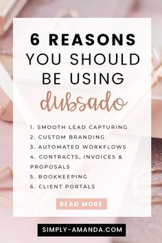 Are you using Dubsado for your freelance service-based business? Here are 6 reasons why Dubsado is the perfect CRM tool to organize your biz! Business Management, Management Tips, Project Management, Business Tips, Online Business, Business Essentials, Creative Business, Chart Of Accounts, Business Organization