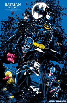 Batman Returns: Gothams Christmas is ruined as it faces a new candidate for mayor and a new costumed vigilante that. Batman Dark, Batman The Dark Knight, Batman And Superman, Batman Stuff, Spiderman, Batgirl, Catwoman, Michael Keaton Batman, Batman Returns 1992