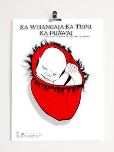 Whakatauki #1 First in a series of Maori Whakatauki (proverbs)